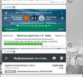 7 голов telegram канал