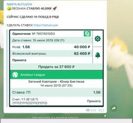 Никита Кутузов телеграмм отзывы