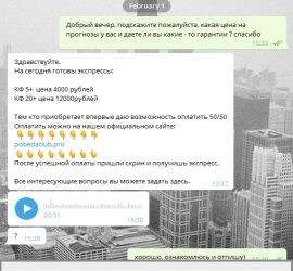 Pobeda Club telegram обзор
