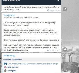 Виталий Зимин телеграмм отзывы