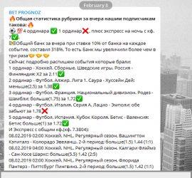 bet prognozov telegram отзывы