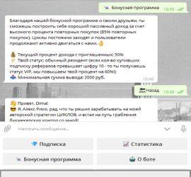 CycleBeT телеграмм отзывы