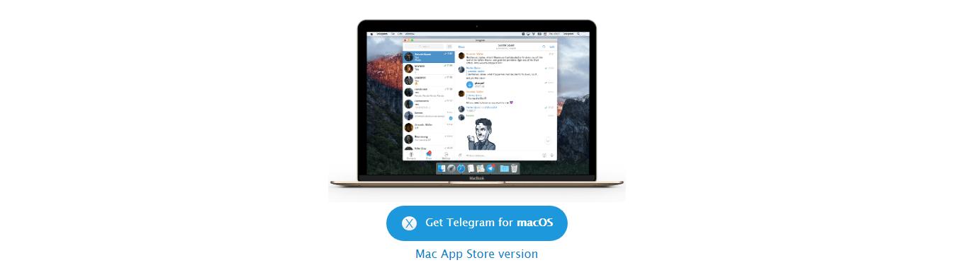 Скачать telegram на mac